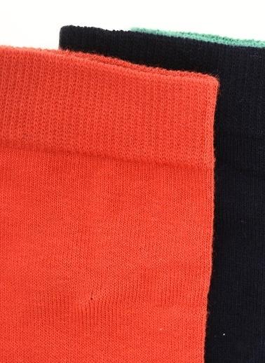Soobe 3'lü Çorap Kırmızı